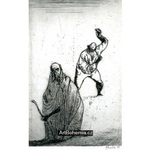 Démokritos a Abdéritští (La Fontaine: Bajky)