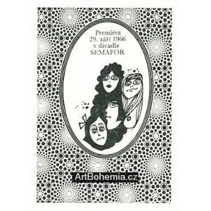 Ilustrace ke knižnímu vydání her Semaforu: Ďábel z Vinohrad II