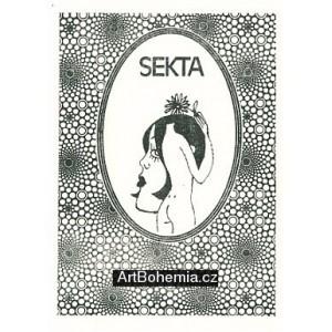 Ilustrace ke knižnímu vydání her Semaforu: Sekta I