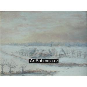 Samota v zimě