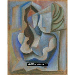 Kubistický akt