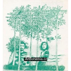 Eva a Adam v ráji I