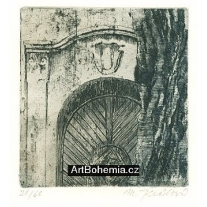Barokní vrata (Pražské zákoutí)