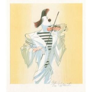 Klaun-houslista - PF 1982 Karel Beneš