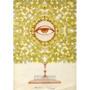 Boží oko v monstranci I, opus 923 - PF 1970 Ludmila Jiřincová