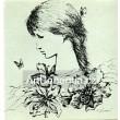 Dívka s motýly