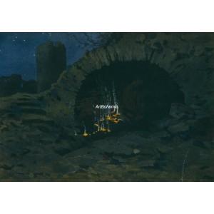 Jeskyně (Letní noc)