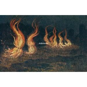 Tanec ohňů (Letní noc)