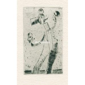 Artista s koulemi, opus 304