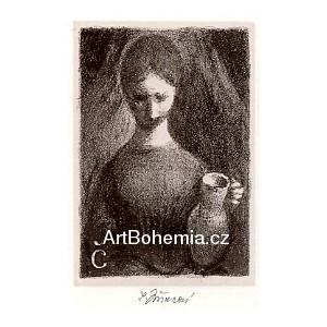 Dívka s džbánem, opus 1245