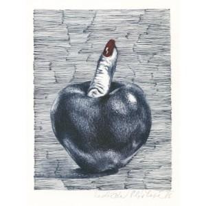 Jablko s dívčím prstem