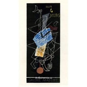 Sur 4 Murs - Galerie Maeght, 1956 (Les Affiches originales)