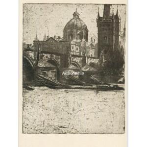 Karlův most z Kampy (Krásná Praha I)