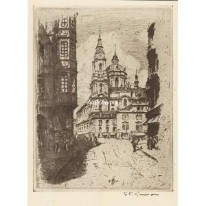 Chrám sv.Mikuláše na Malé Straně (Praha 1911)