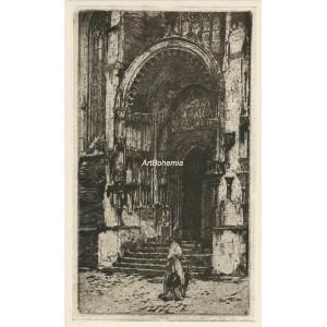 Týnský portál (1912) (Krásná Praha II)