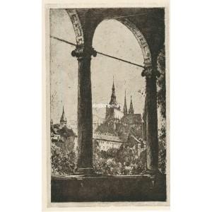 Chrám sv.Víta z Belvederu (1914) (Krásná Praha II)