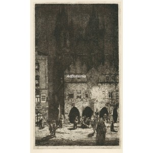Krásná Praha II - komplet 10 dopisnic