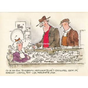 Co je na tom telegramu nepochopitelné… (Výstava do kapsy)
