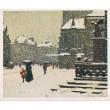 Praha v zimě - komplet 10 grafik