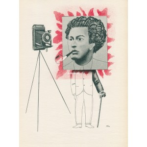 André Breton, hlava surrealismu (1934) (Visages)
