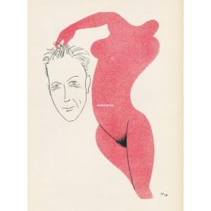 Josef Šíma ve spárech génia (1928) (Visages)