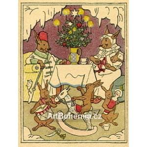 Pohoda u vánočního stromku