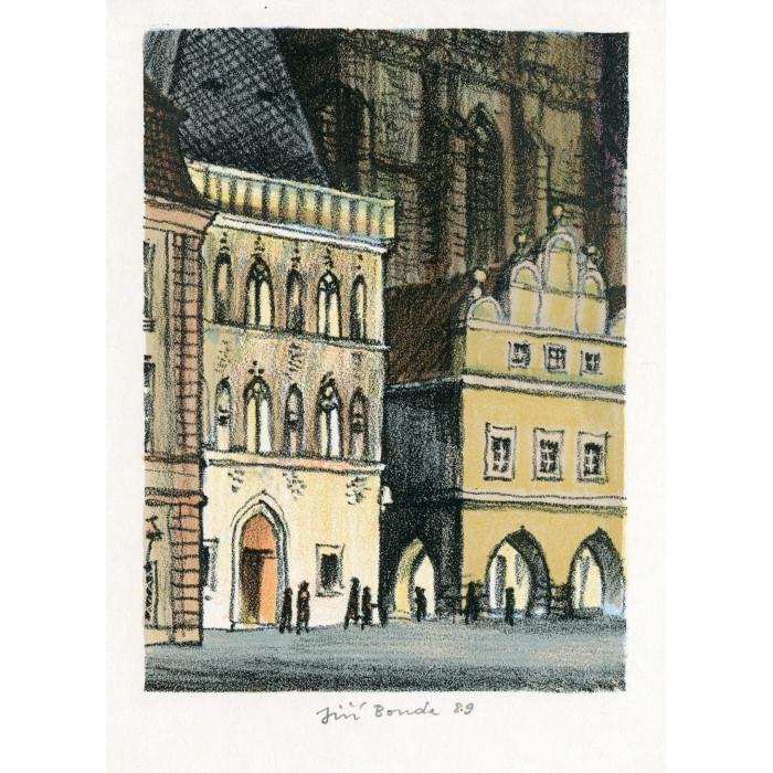 Dům U Kamenného zvonu na Staroměstském náměstí