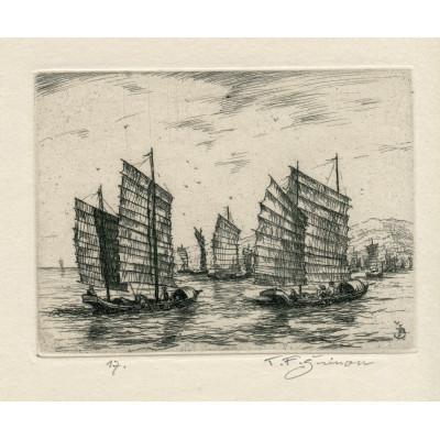 Čínské rybářské džunky, opus 520 (Črty z Orientu)