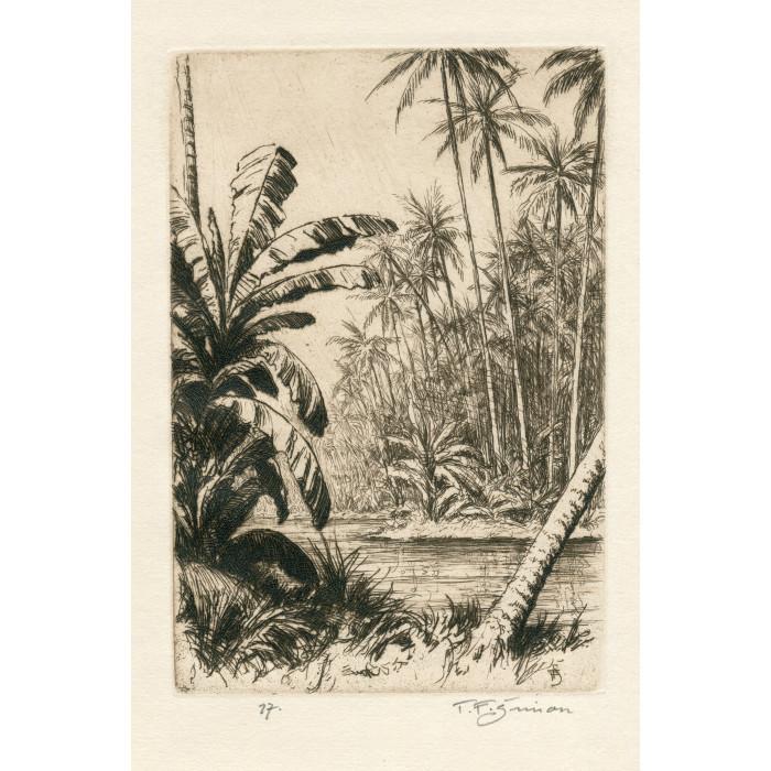 Tropická krajina, opus 521 (Črty z Orientu)