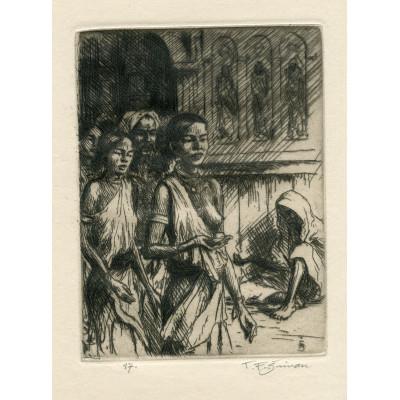 V budhistickém chrámě v Kandy, opus 524 (Črty z Orientu)