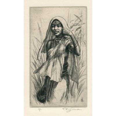Ceylonské děvče, opus 526 (Črty z Orientu)