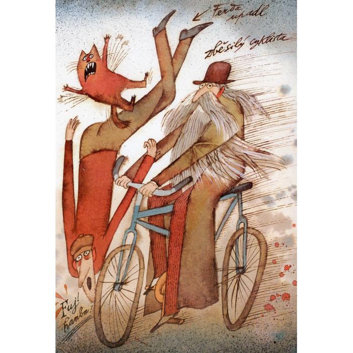 Zběsilý cyklista