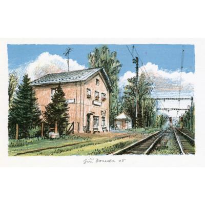 Železniční stanice Újezd u Chocně
