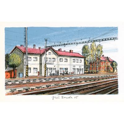 Železniční stanice Borohrádek