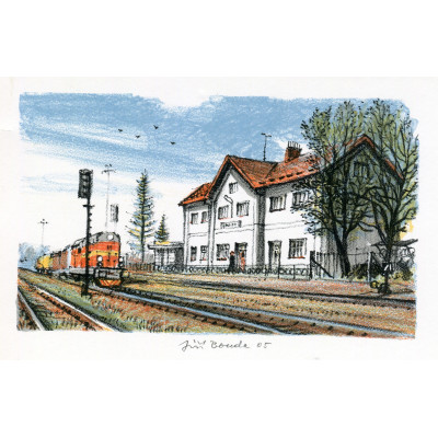 Železniční stanice Bolehošť