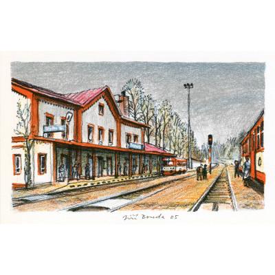 Železniční stanice Teplice nad Metují