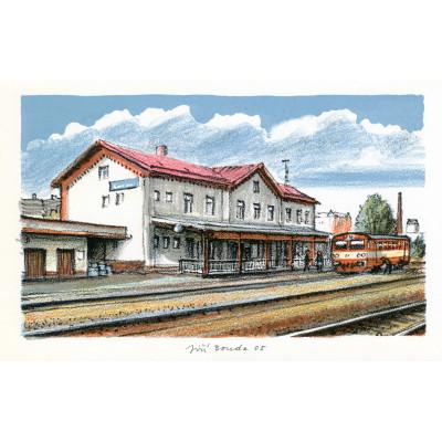 Železniční stanice Broumov