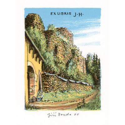 Zřícenina hradu Frymburk