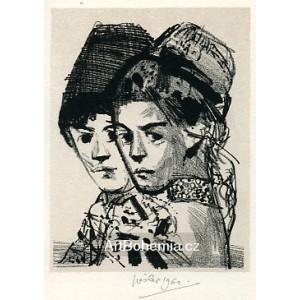 Dvě krojované děti