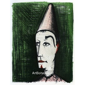 Le Clown au fond vert, 1960