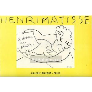 Exposition de dessins - Galerie Maeght, 1945 (Les Affiches originales)