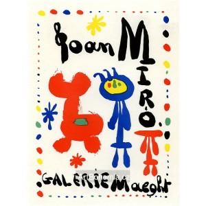 Joan Miró - Galerie Maeght, 1949 (Les Affiches originales)