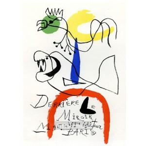 Derriére le miroir - Maeght éditeur Paris, 1954 (Les Affiches originales)