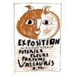 Exposition poteries, fleurs, parfums III - Vallauris, 1948 (Les Affiches origina