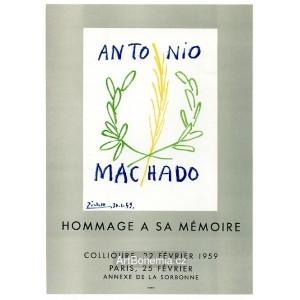 Antonio Machado - Collioure, 1959 (Les Affiches originales)