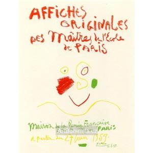 Affiches originales - Maison de la Pensée Francaise, 1959 (Les Affiches original