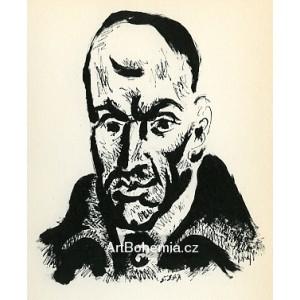 Portrait de Luis de Góngora (Portrait of Luis de Góngora) (5.3.1947)