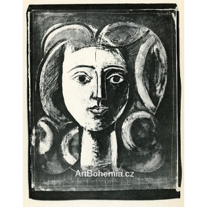 Tête de jeune fille (Head of a young girl) (10.3.1947)