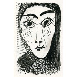 The Woman´s En Face (Le Goût du bonheur)