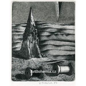 Ahasvér (ze souboru 12 leptů)
